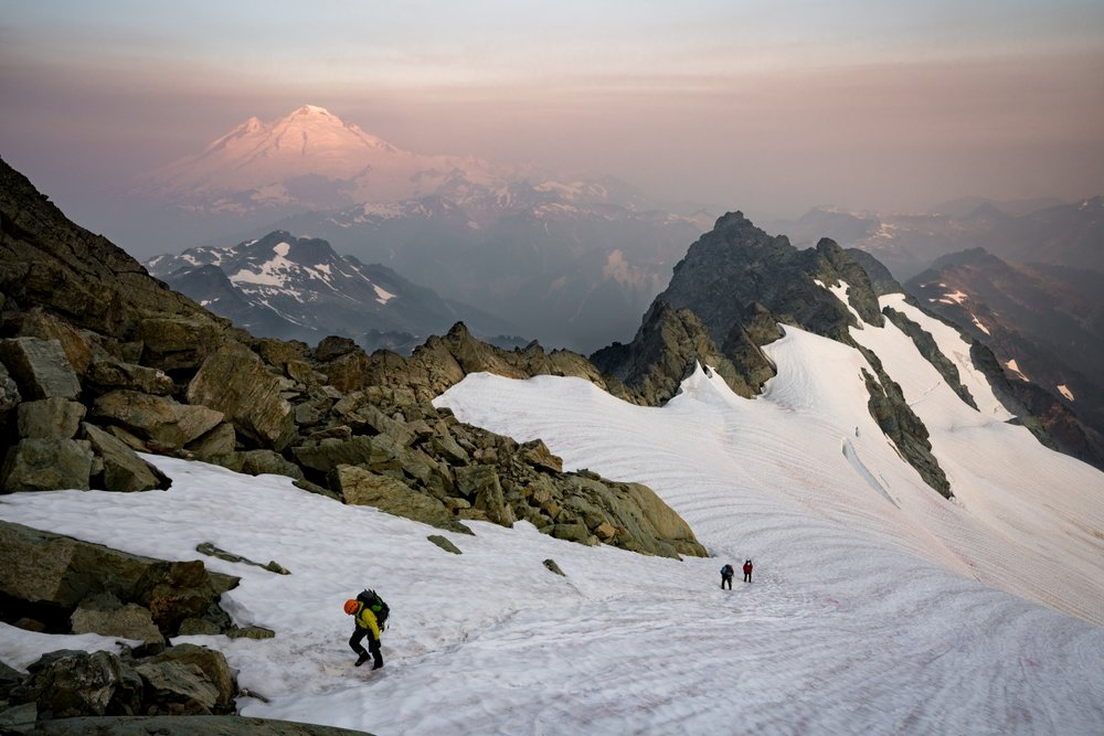 Mt. Shuksan, Fisher Chimneys