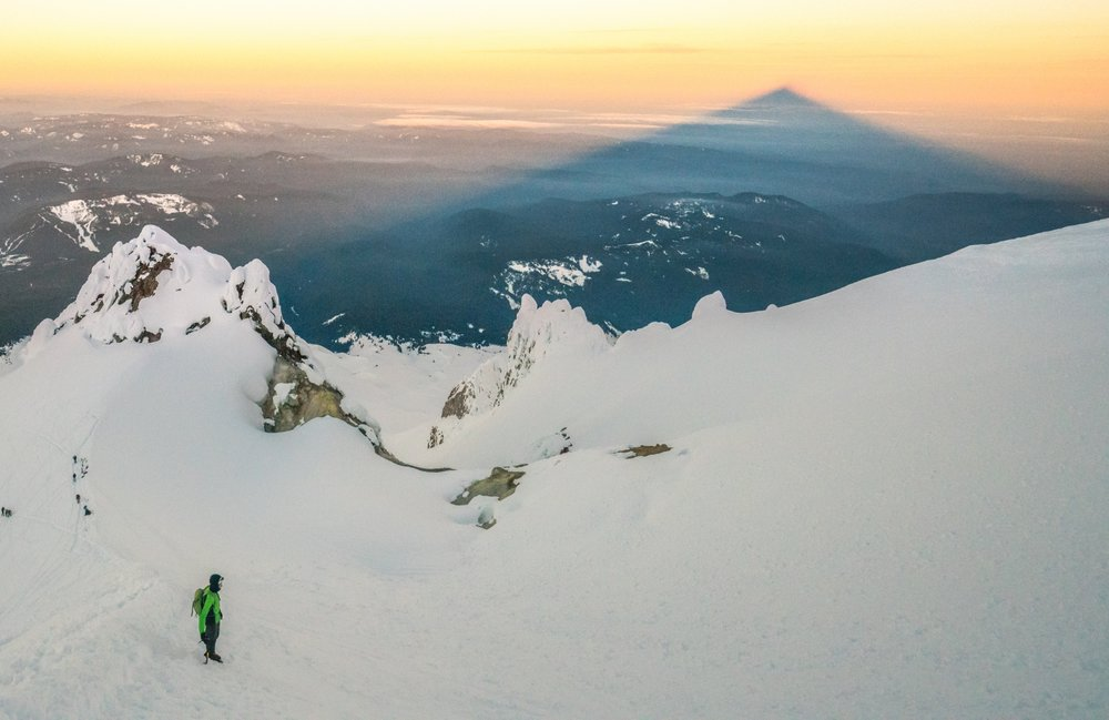 Mt. Hood Sunrise, South side