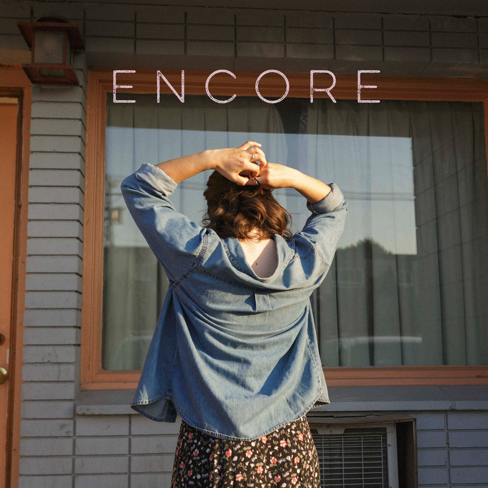 cover art for encore.  photo by  adam kelly ,design by cassidy mann.
