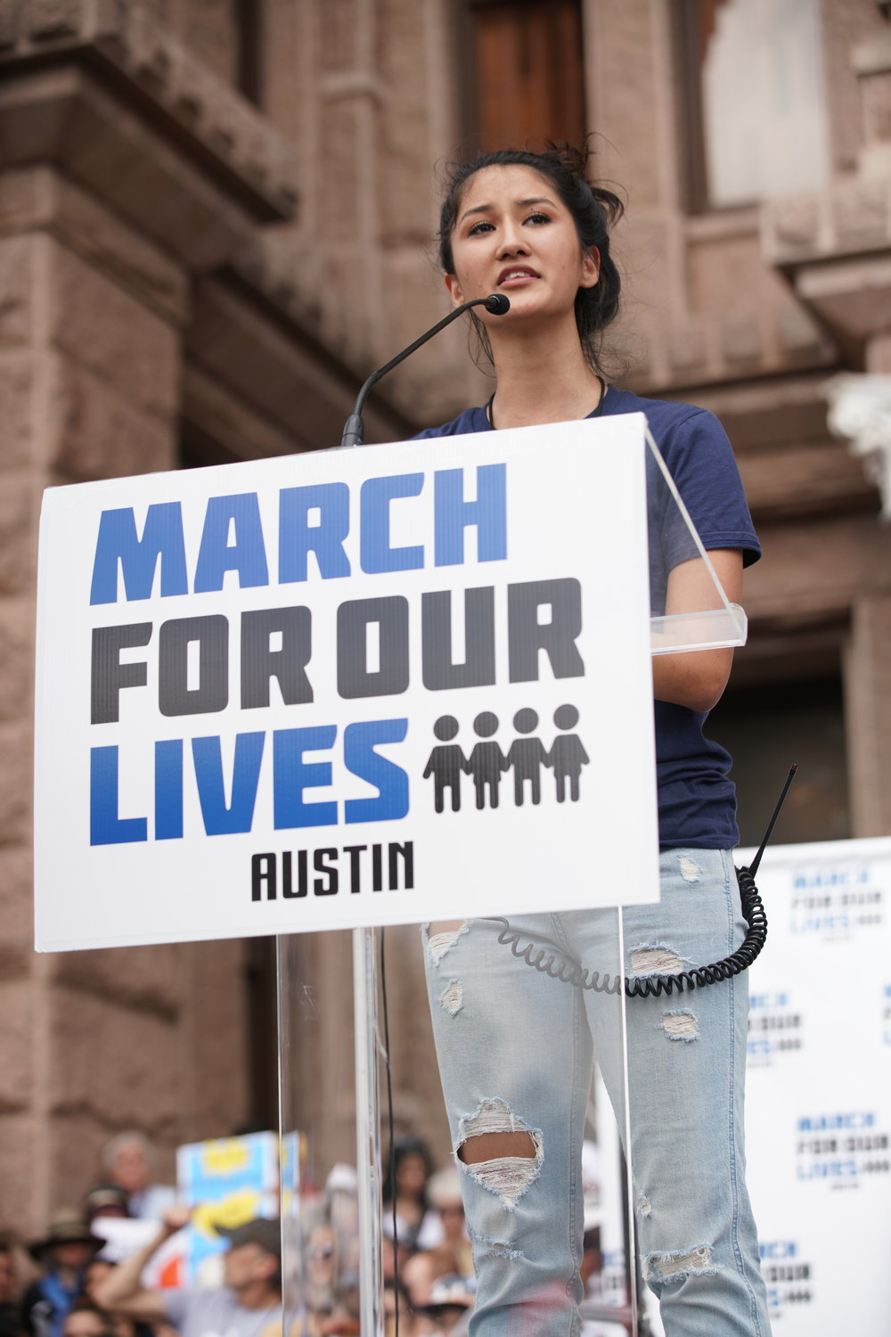 March For Our Lives Austin - Photo by Ali Hajipour