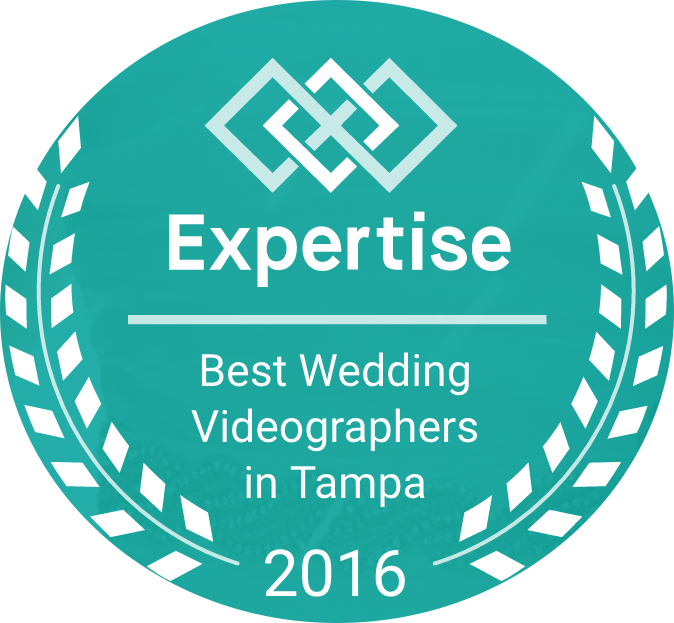 Badge - 13 Best Wedding Videographers 2016 (Circle).png