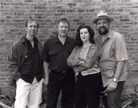 Fourth World: Woodstock, NY left to right: Drew Gress, James Emery, Judi Silvano, Joe Lovano photo by William Gamble