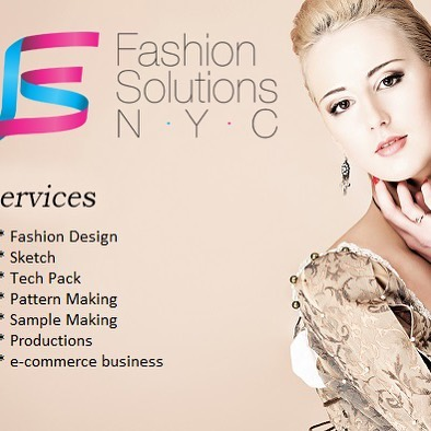 Fashion Solutions NYC provides fashion consulting services,  tech packs, pattern, samples and productions! - #fashion #fashiondesign #patterns #samples #techpack #nyc
