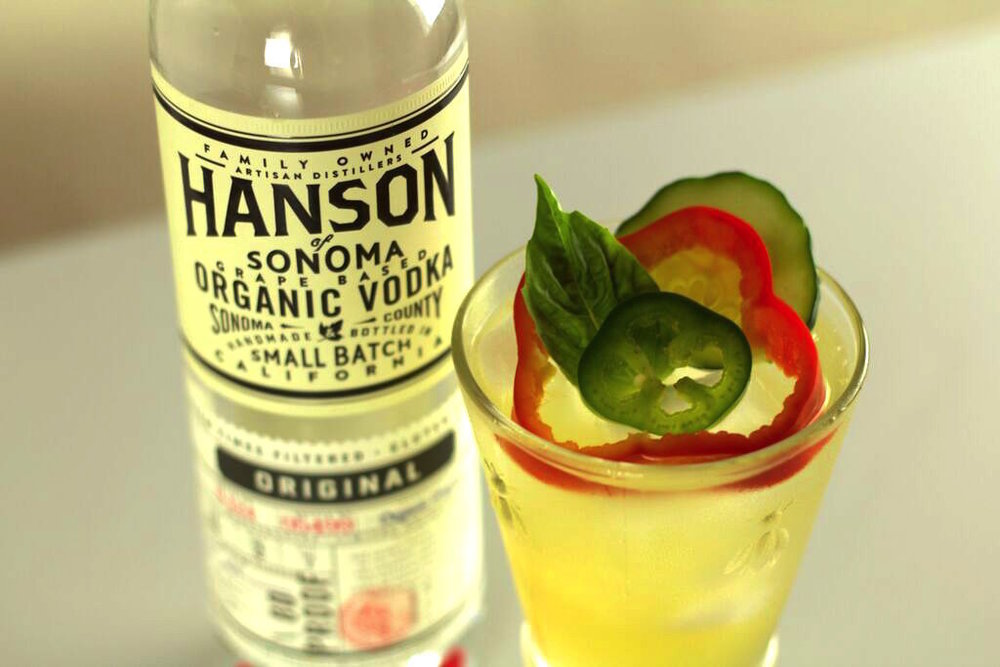 hansons garden cocktail