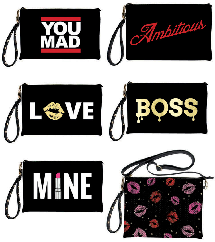 Graphic Clutches