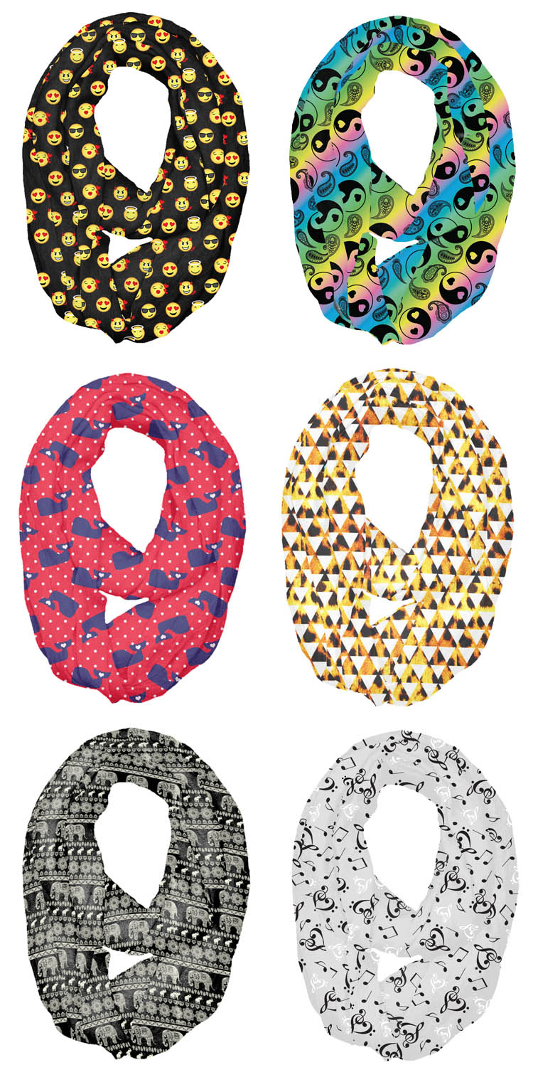 Print Scarves