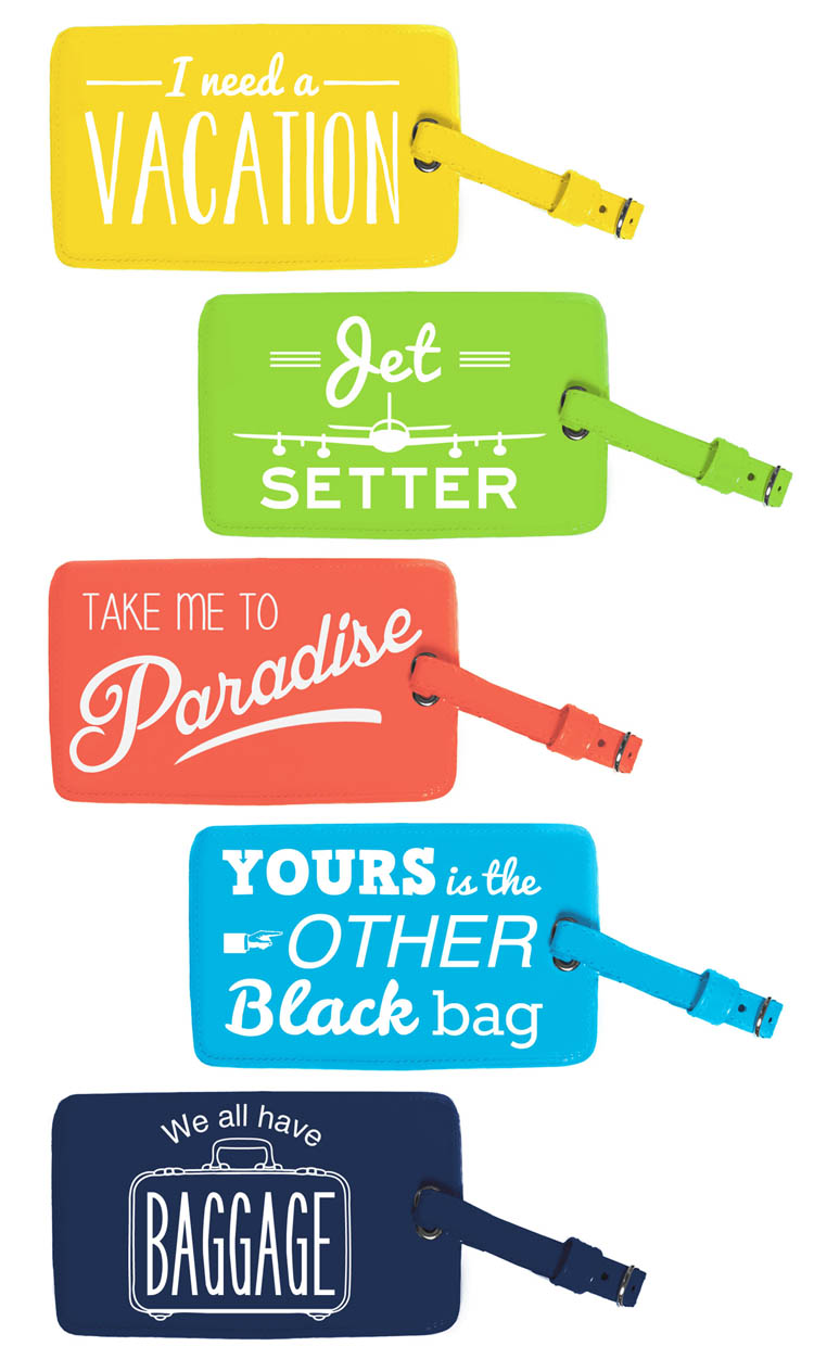 Phrase Luggage Tags