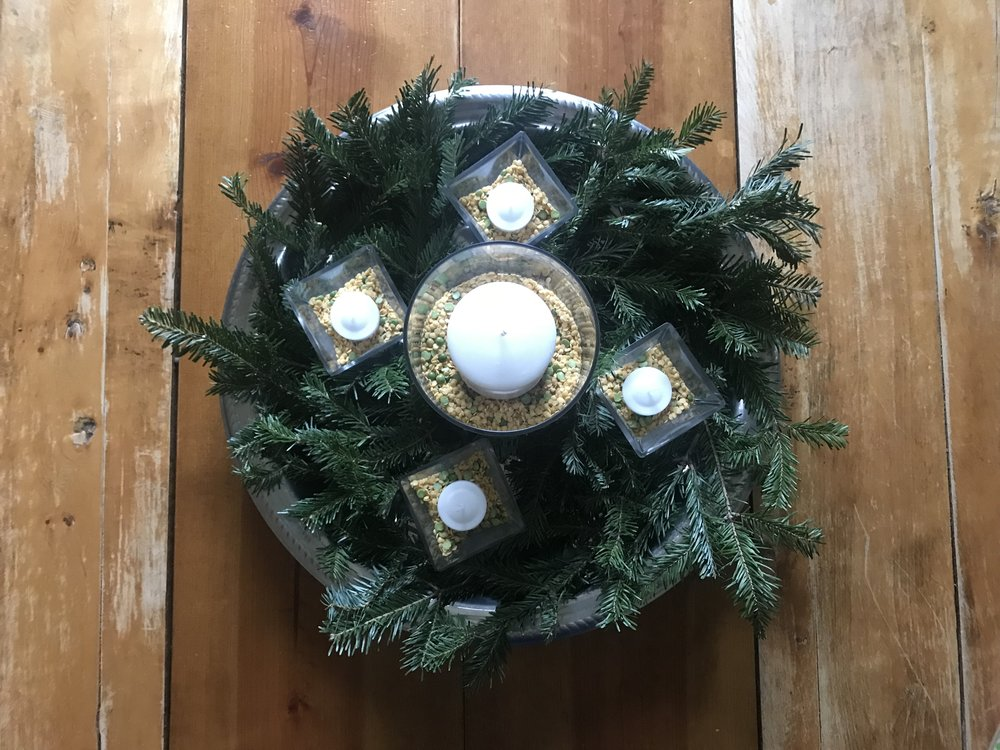 this year's advent wreath
