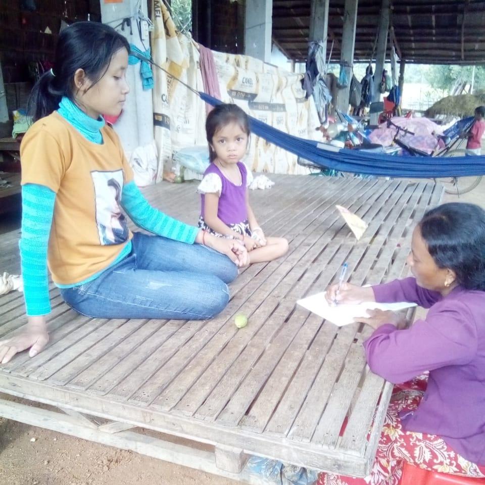 Kung Ruth Village Based Preschool Teacher Dam Vun. អ្នកគ្រូ ដាំ វុន គ្រូមតេ្តយ្យសិក្សាសហគមន៌ភូមិ គង់រុត ខេត្តកំពង់ស្ពឺ
