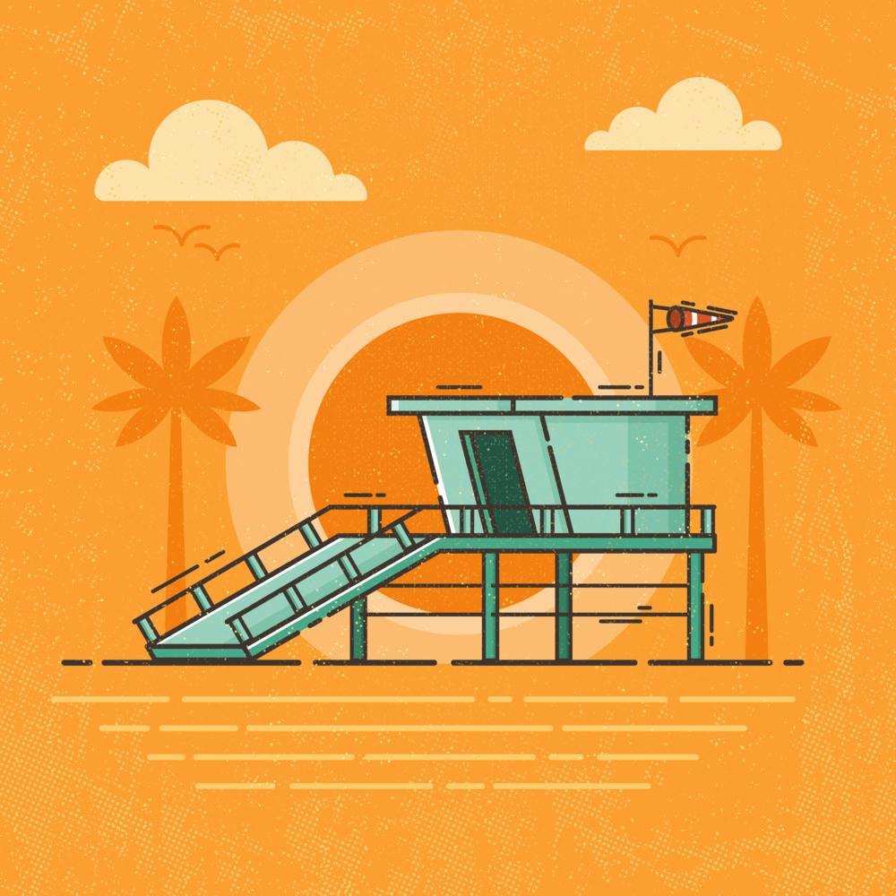 Ode to Summer - Beach Shack