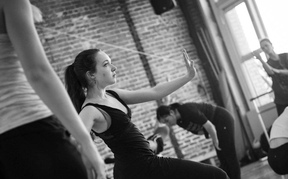 Post:Workshop 2018 participant and current Post:Ballet dance artist Moscelyne ParkeHarrison, photo by Natalia Perez