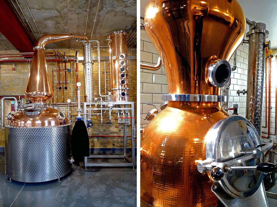 London Distillery Company Interior Design
