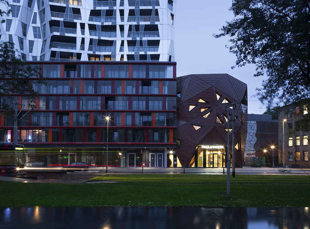 Calypso Rotterdam Residential Architecture