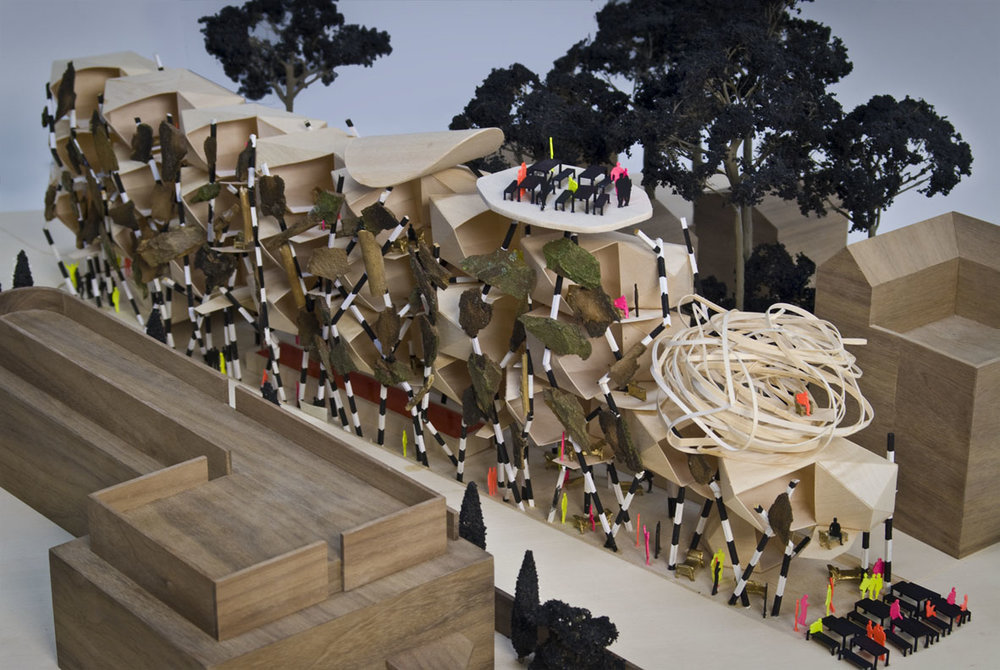 La Fosca Hotel Architectural Model