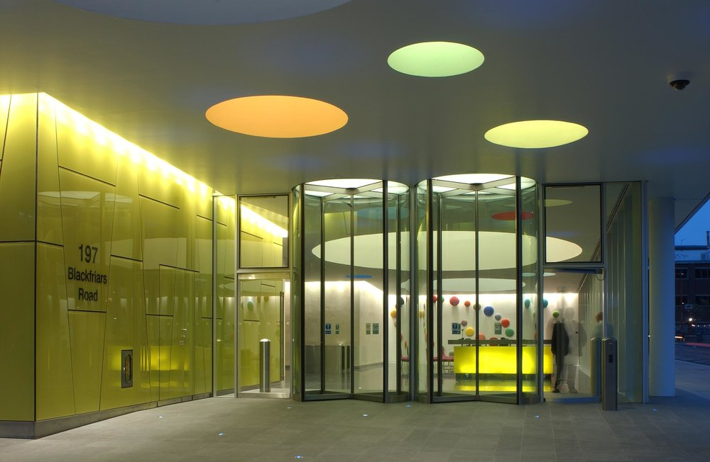 Palestra Entrance Lobby, London Uk