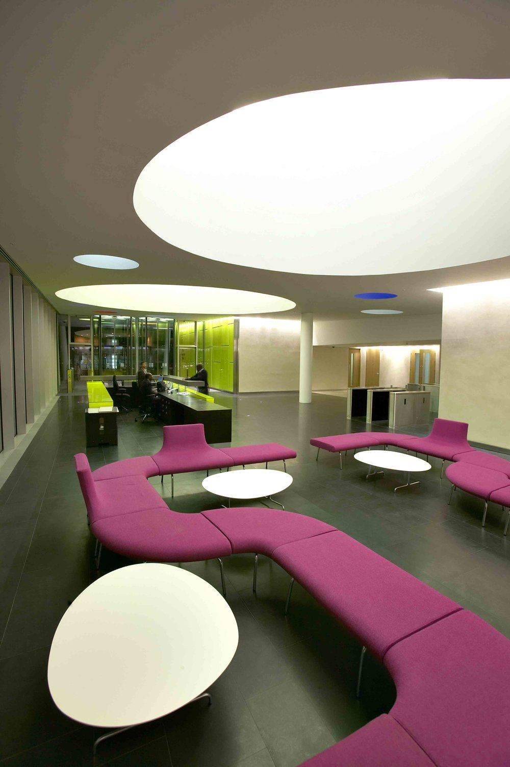 Palestra Office Interior Design London UK