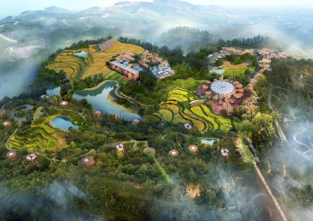Yubei Masterplan China
