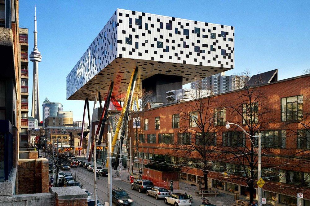OCAD Exterior architecture
