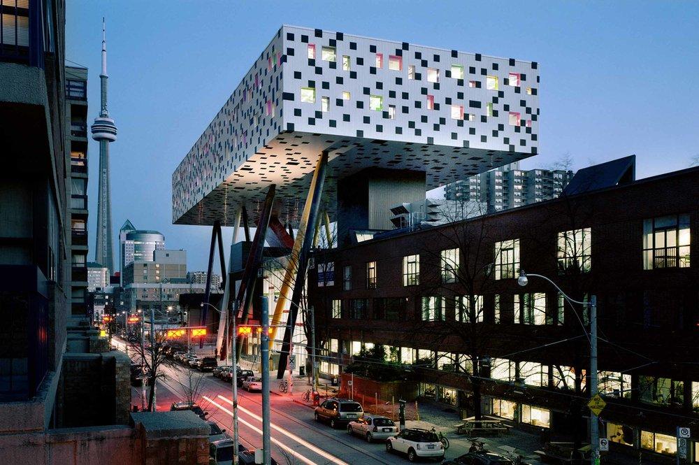 OCAD University Architecture Night view