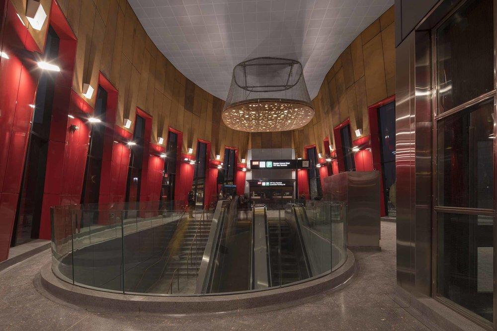 Pioneer Village Station Interior Design