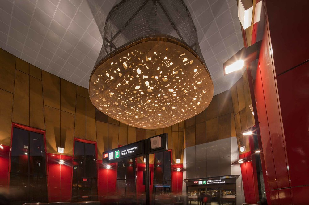Pioneer Village Station Toronto Architecture Interior