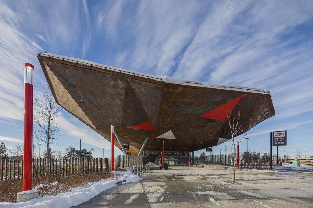 Pioneer Village Station Transport Architecture