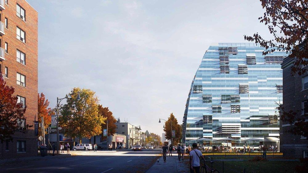 Alaska Condo Toronto, Residential Architecture external view