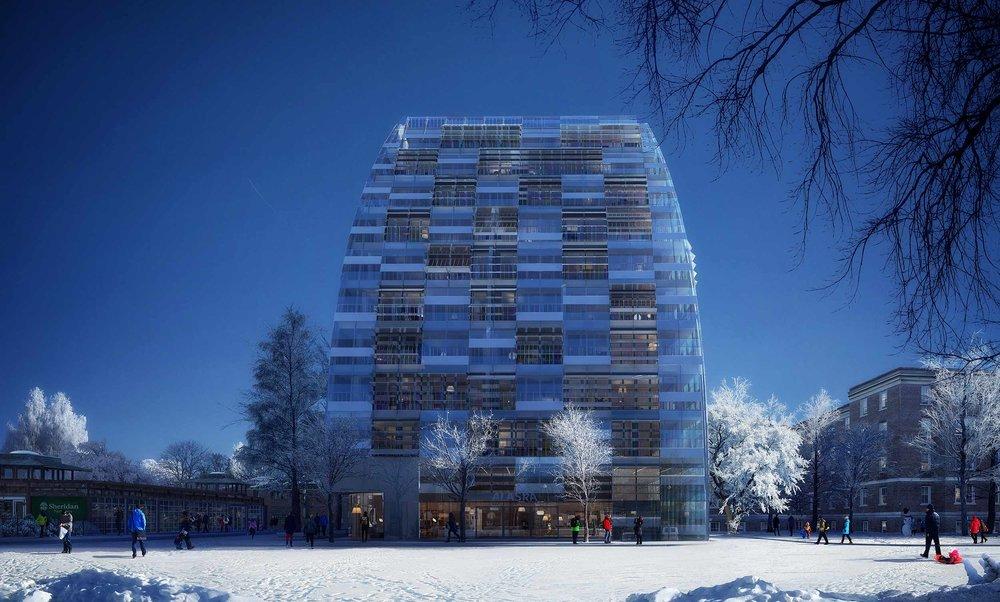 Alaska Toronto Residential building external view