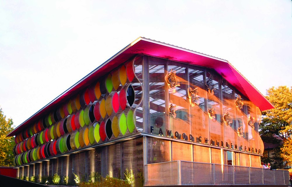 Fun Architecture - Fawood Children's Centre Exterior