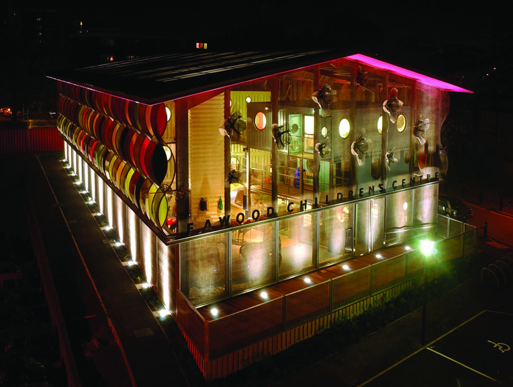 Education architect - Fawood Children's Centre Exterior