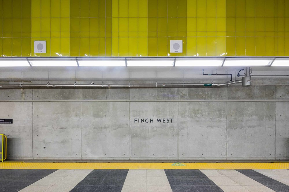 Finch West Station Platform