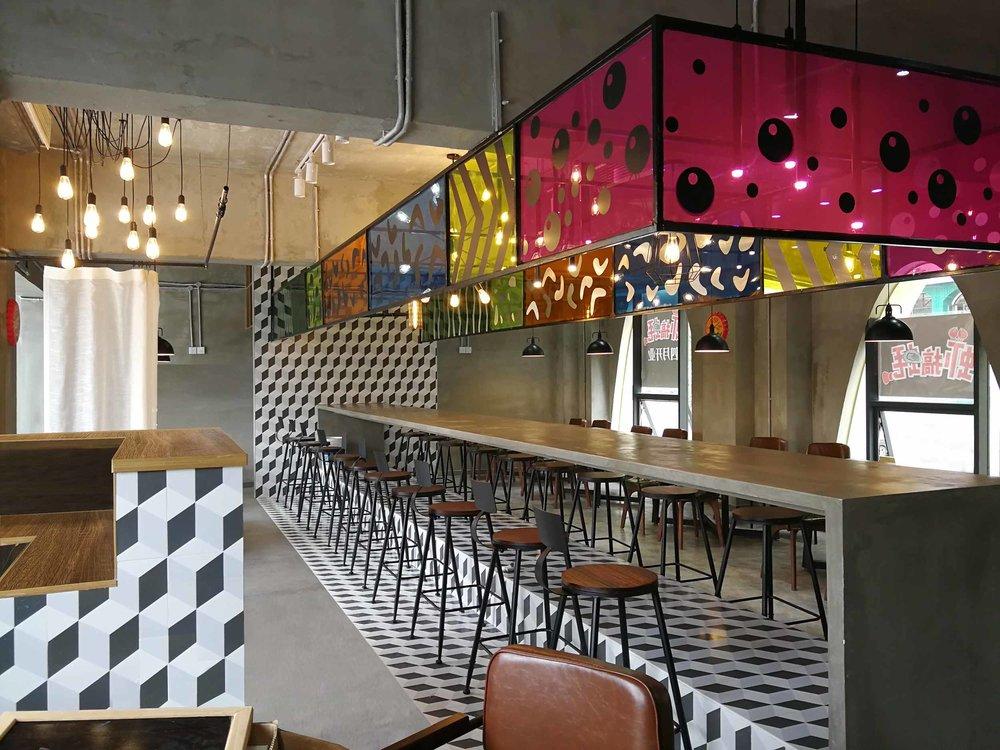 Crayfish Restaurant Interior Design