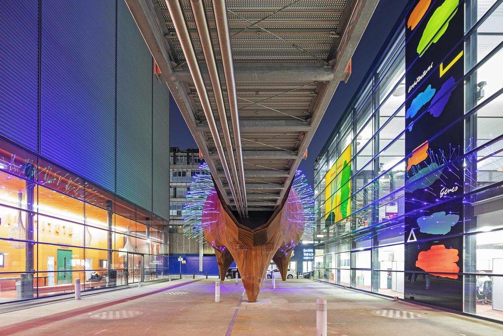 Neuron Pod Sculptural Architecture