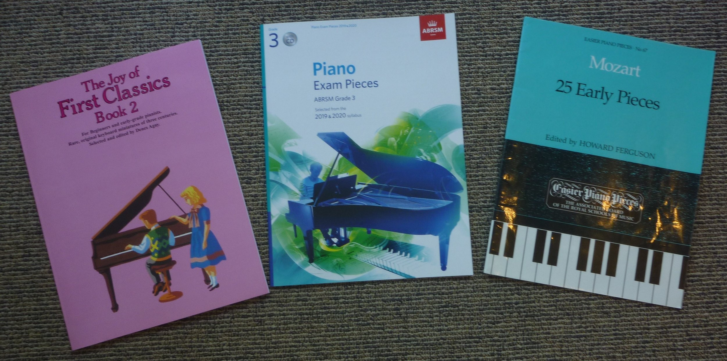 ABRSM Grade 3 Piano Exam Pieces 2019-2020 A section comments