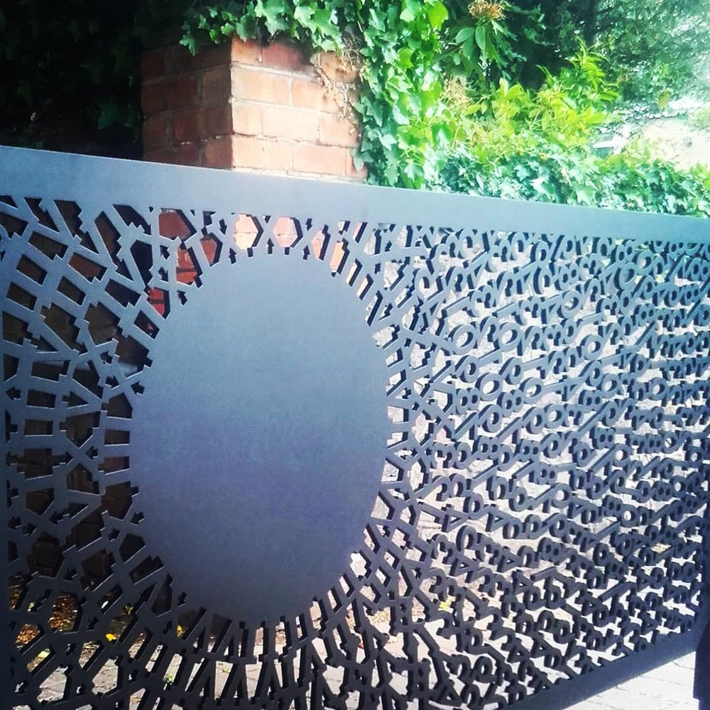 Exterior - Bespoke gateS, street furniture, signage & ARCHITECTURAL METAL WORK...