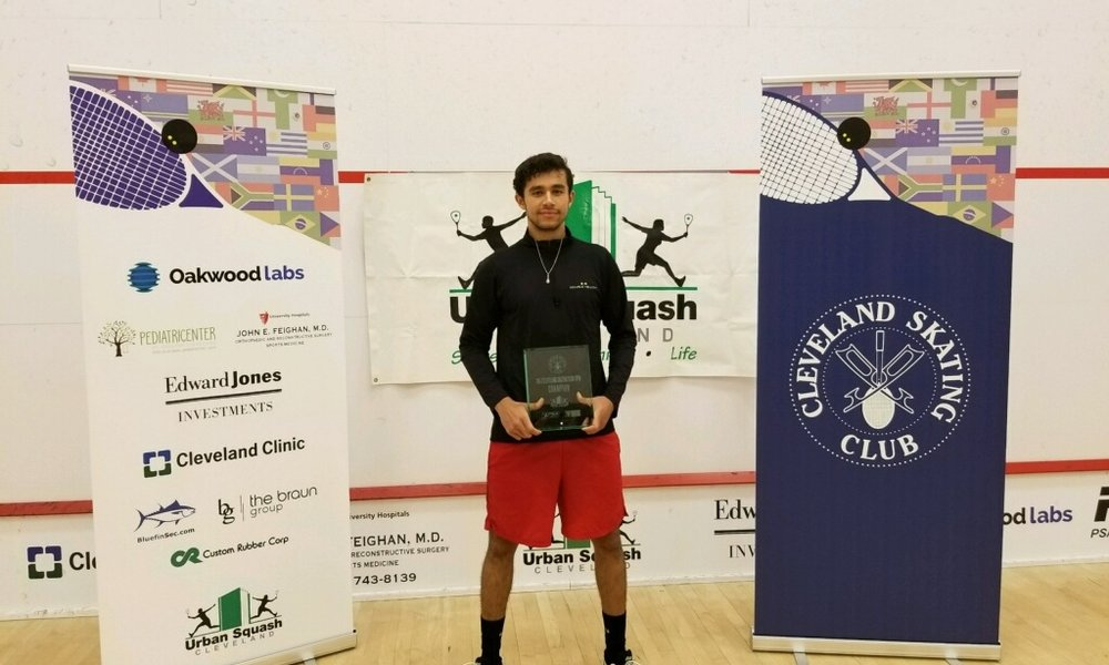 2017 CSC OPEN $10K CHAMPION: MOHAMED ELSHERBINI