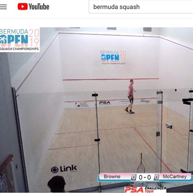 "Watch Live 7:30 EST -- [6] Marina De Juan Gallach (ESP) v Jasmin Ballmann (SUI) -- Bermuda Open First Round. Search ""Bermuda Squash"" on Youtube."