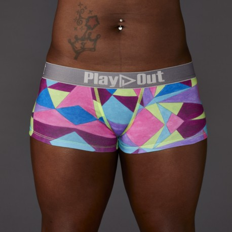 Geo Multi Low Rise Boxer Brief - Play Out Underwear