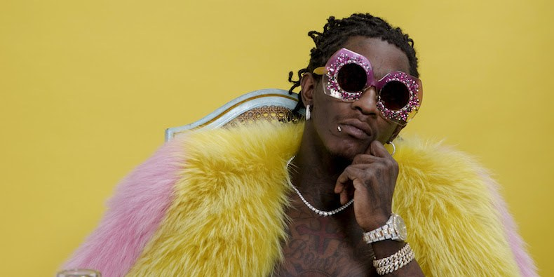 Young Thug.    Photo by Nikko Lamere
