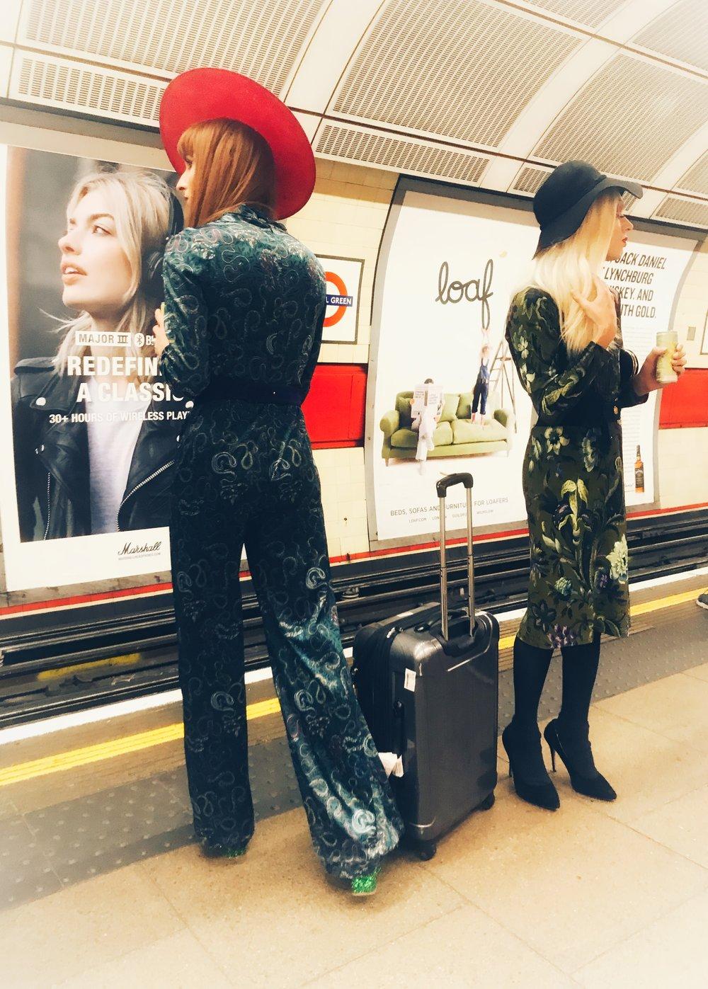 What a Drag! London Underground. Photo:  Joshua Williams