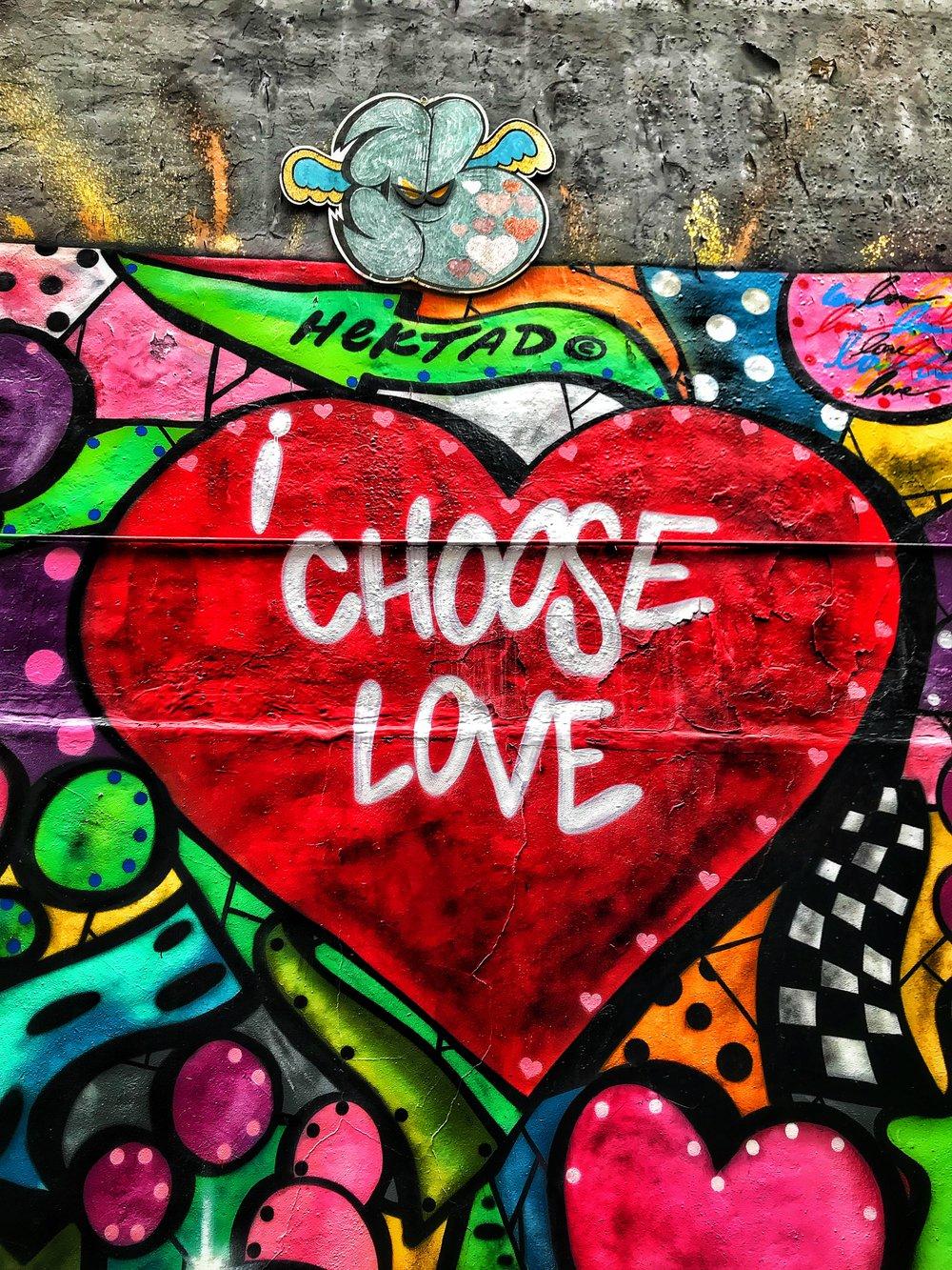 I Choose Love in NYC. Photo:  Joshua Williams