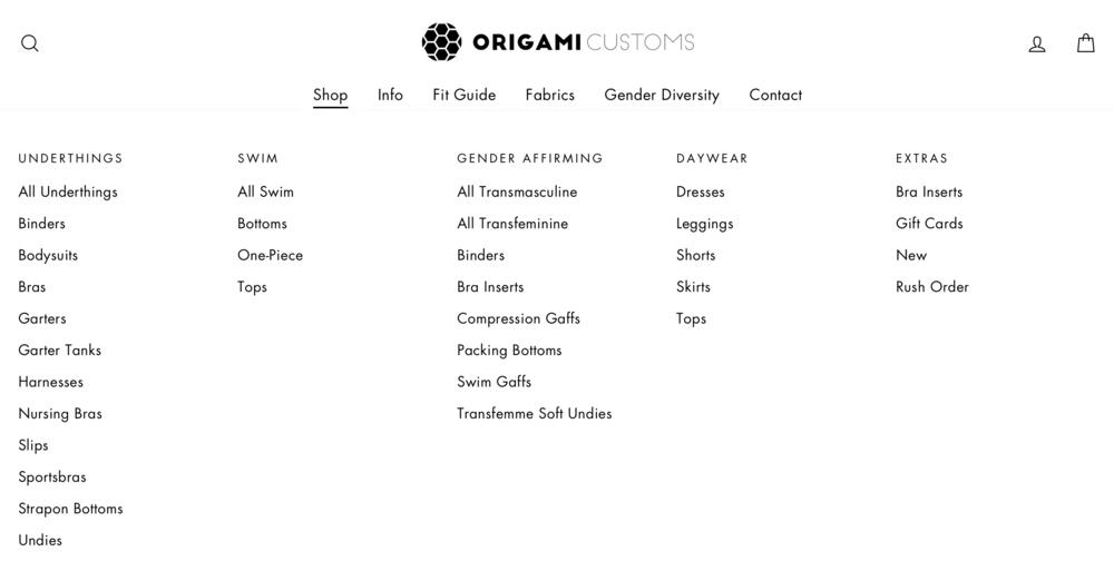 Origami Customs