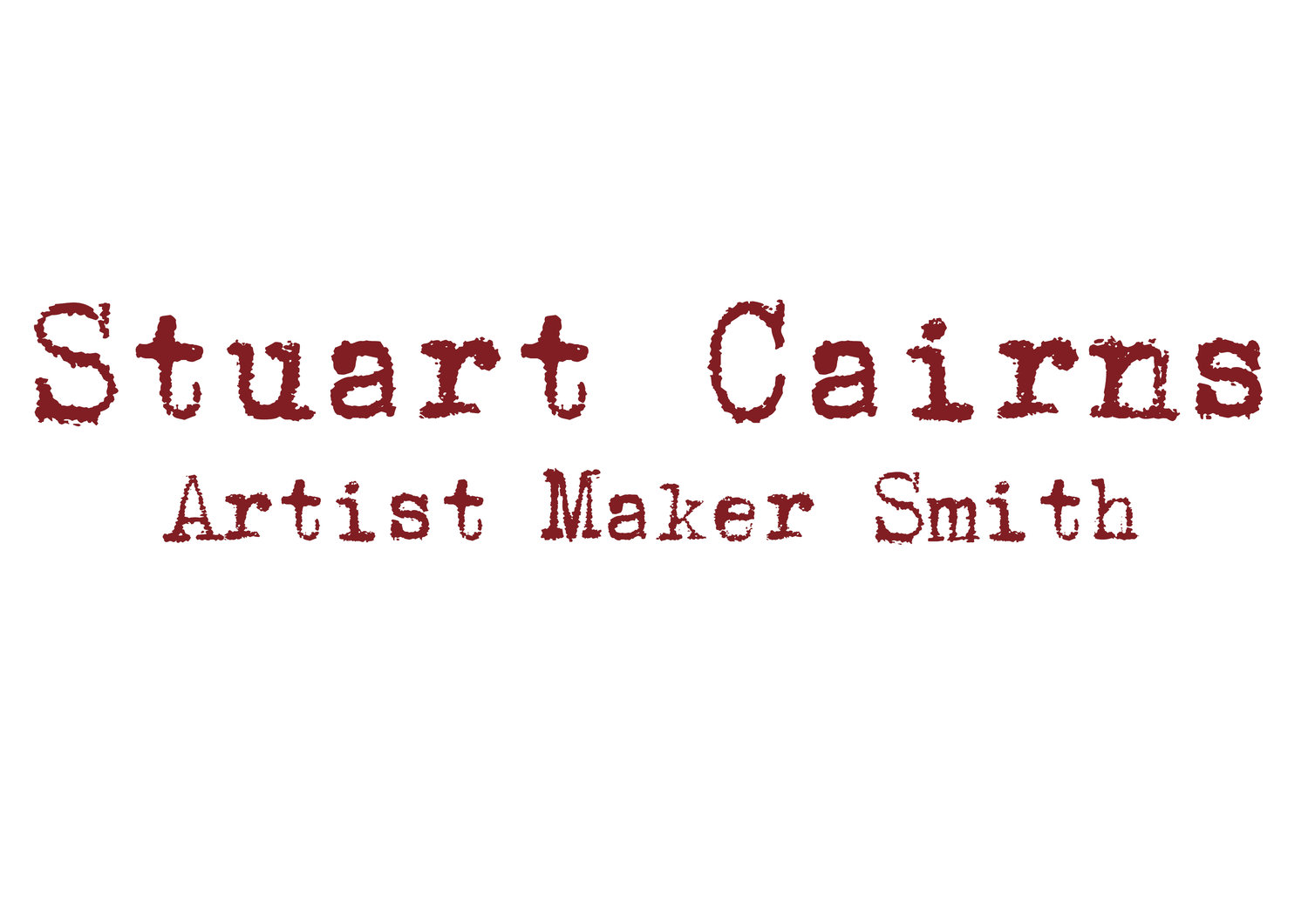 Stuart Cairns Maker