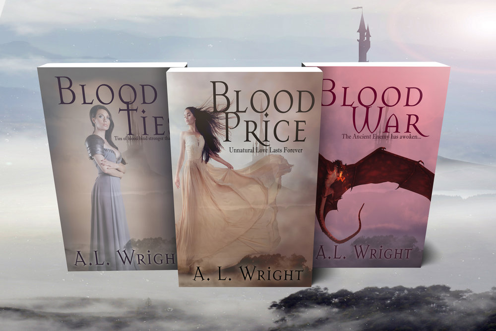 Epic Dark Fantasy. 1100 years ago, Three magic wielders had to make a choice. Their world was engulfed in war, and the human race was on the very brink of survival. They paid the ultimate Blood Price, and gave themselves over to a dark power, becoming strong, powerful, immortal. The three Warlocks changed the course of the war, winning freedom for humanity, at the cost of sacrificing their own. Now, 1100 years later, whispers of war are once again in the air...   mybook.to/NoBTrilogy