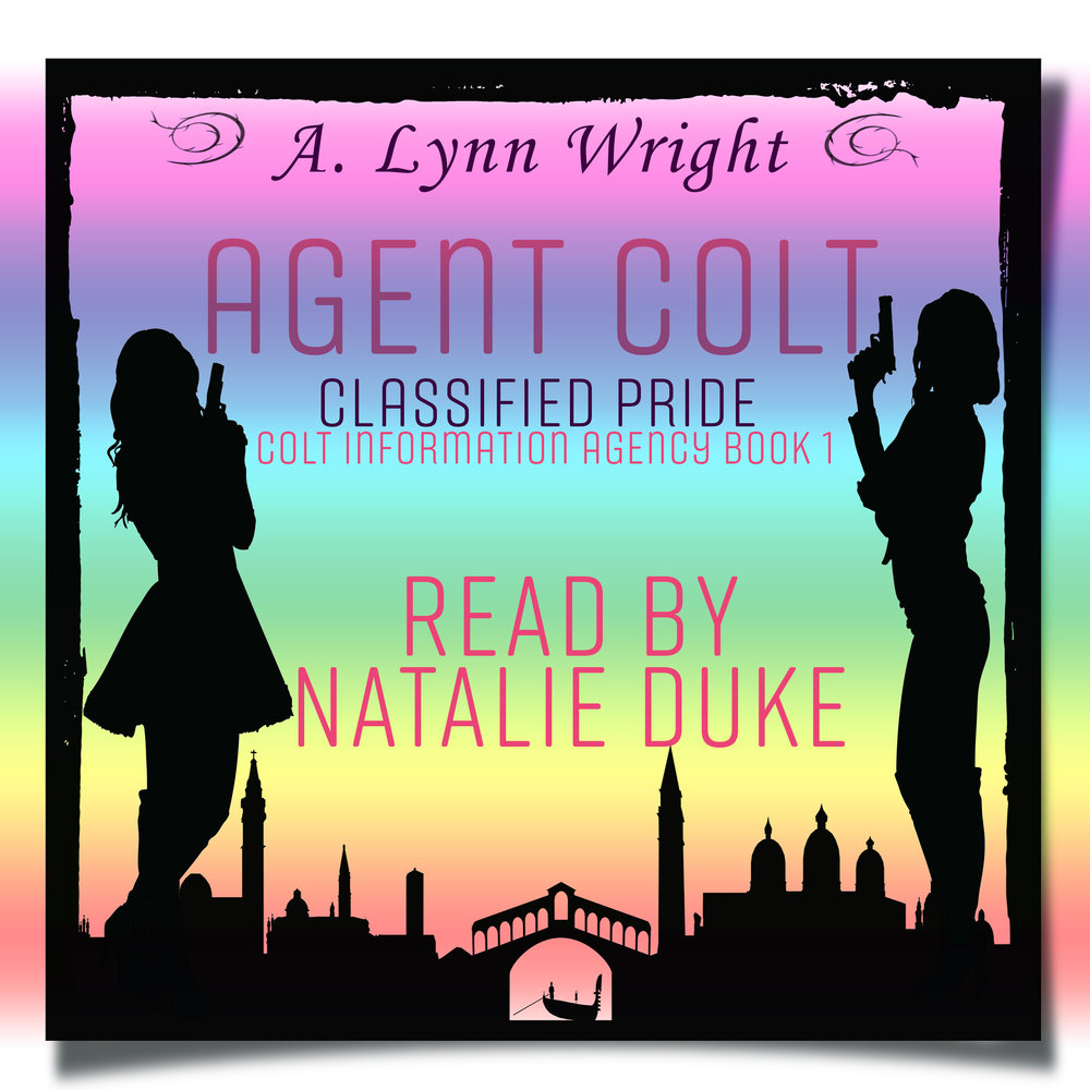 Agent Colt AudioBook - Narrated by Natalie Duke.