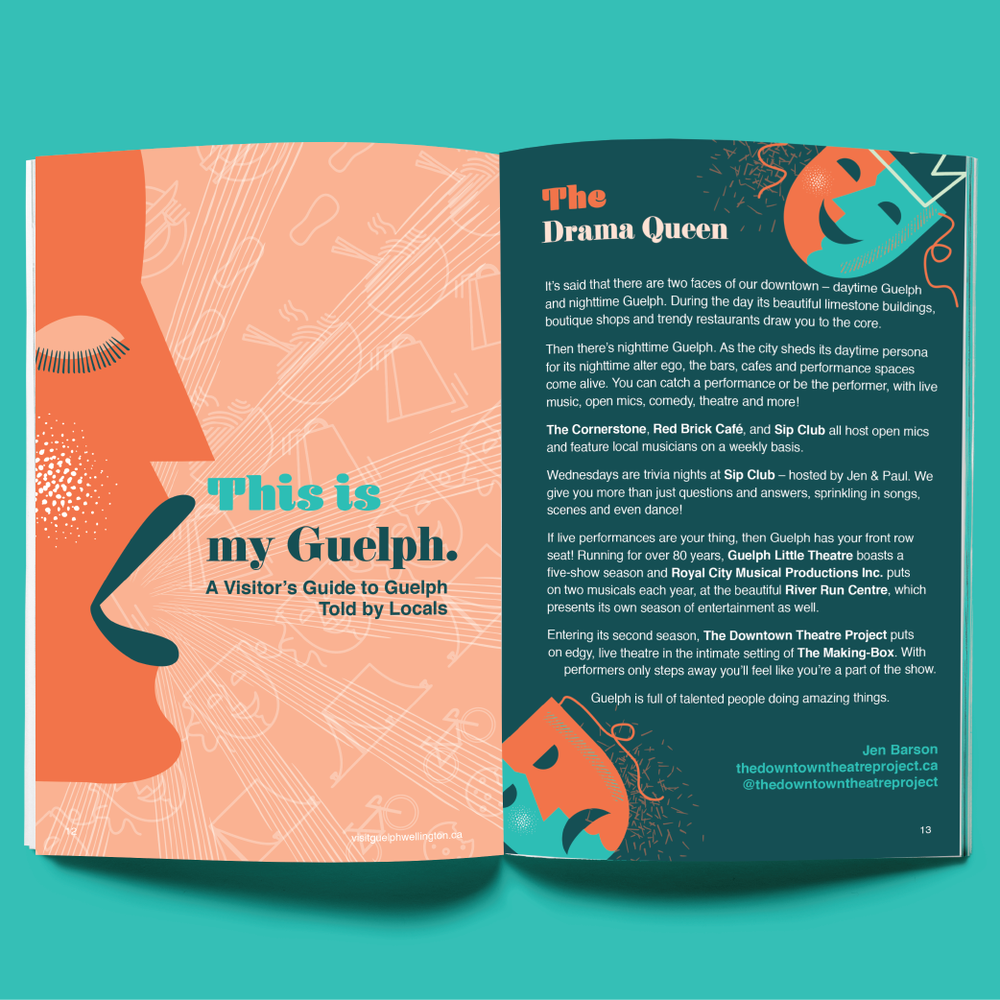 Visit Guelph Guide 2019 (Spring/Summer edition) Spread