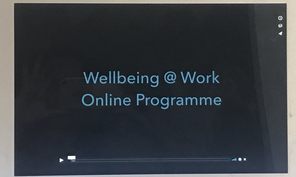 Six Week Online Wellbeing @ Work Webinar
