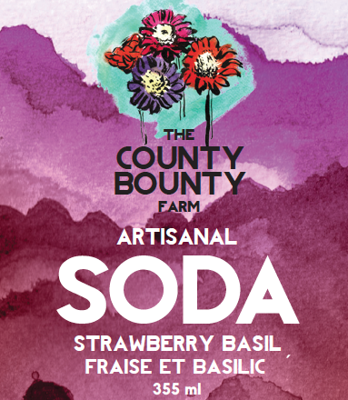 STRAWBERRY BASIL SODA: Back by popular demand! This drink tastes as good as in sounds! Made with Genovese Basil and summer time berries, it's a lovely mixture of sweet and savoury flavours.