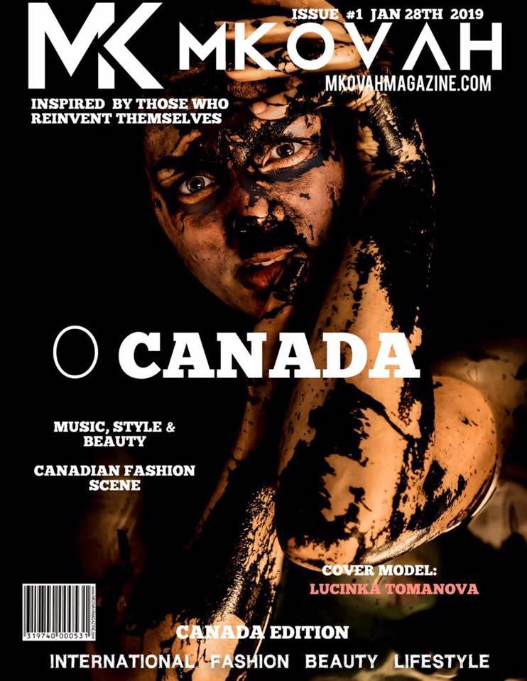 MKOVAH MAGAZINE - CANADA ISSUE #1 FEB 3RD, 2019Cover Model - Lucinka TomanovaCreative Director, Photographer - Roy Nghttps://issuu.com/mkovahmagazine/docs/mk-main-canada-jan?e=30949385/67510651