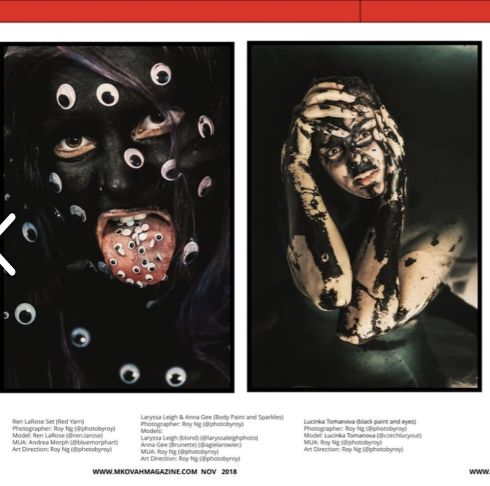 MKOVAH MAGAZINE - LOS ANGELES ISSUE #3 NOV 15TH, 2018Featured Model - Lucinka TomanovaCreative Director, MUA, Photographer - Roy Nghttps://issuu.com/mkovahmagazine/docs/mk-main-los_angeles-new?e=30949385/65980933